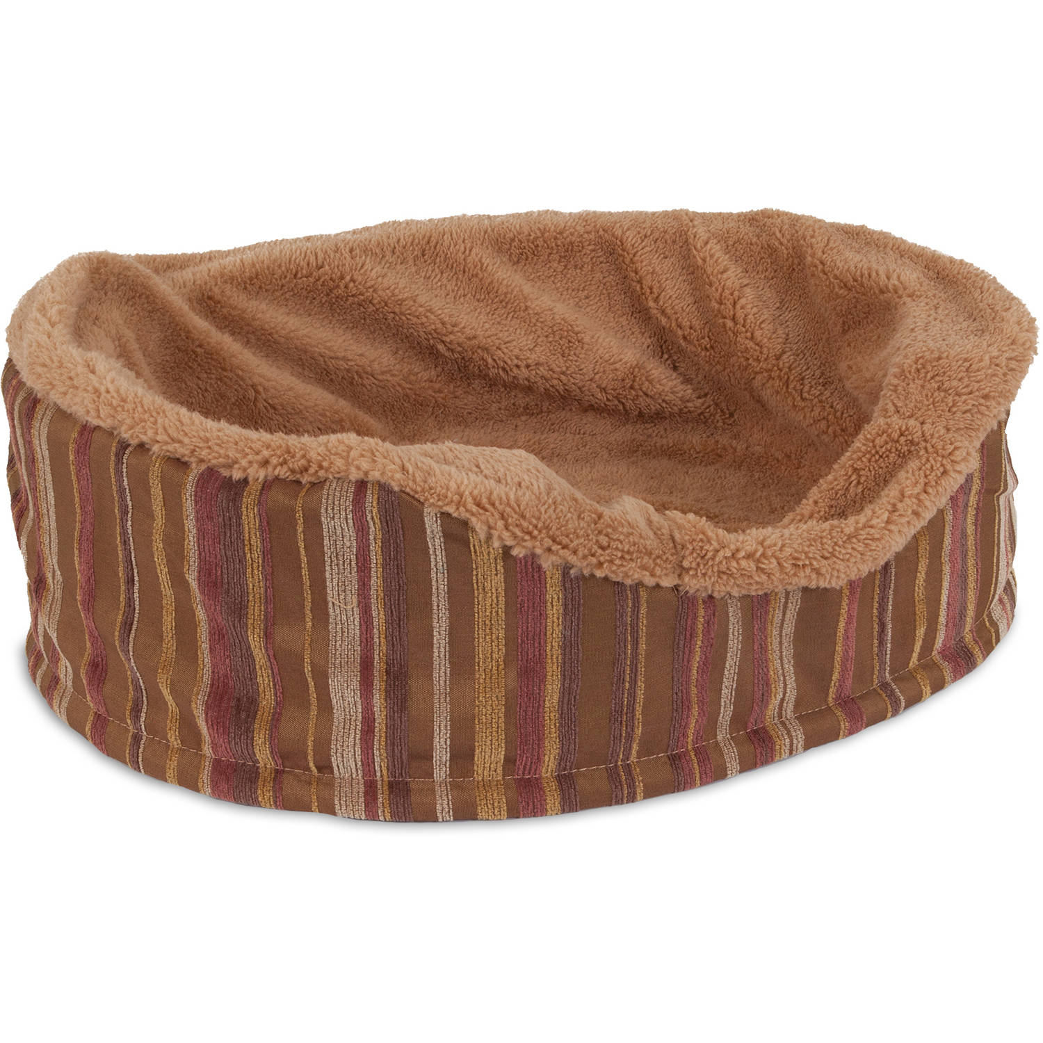 """Aspen Pet Antimicrobial Deluxe 18"""" Oval Pet Bed"""