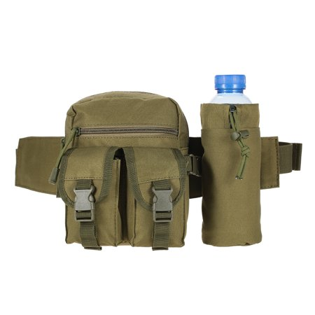 Hiking Belt - Tactical Molle Bag Waist Bag Fanny Pack Hiking Fishing Hunting Waist Bags Tactical Sports Hip Belt Bag Outdoor Travel Military Equipment Gear