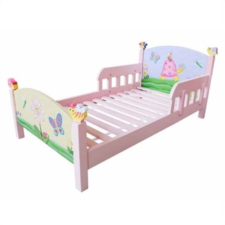 Fantasy Fields - Magic Garden Toddler Bed Teamson Design Magic Garden