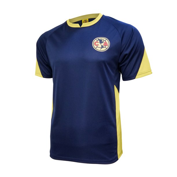 Icon Sports Men Club America Officially Licensed Soccer Poly Shirt Jersey -02 Medium