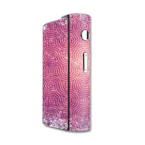 Skin Decal Wrap for Laisimo S3 200W TC mod skins sticker vape Purple Swirls