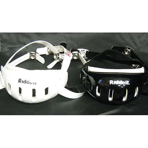Riddell Hard Cup Chin Strap - S/M ASST (Colors: Black and White)
