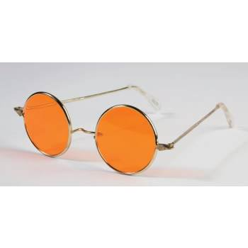 Hippies Glasses (GLASSES-HIPPIE-ORANGE LENSES)