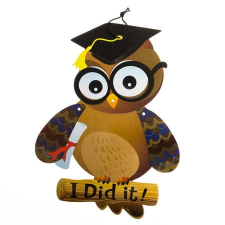Graduation Owl Cutout - Owl Cutouts