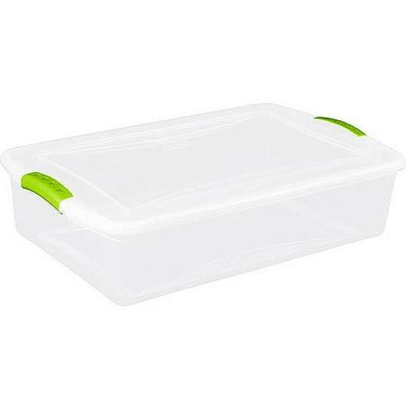 Sterilite 8 5 Gallon 34 Quart Latch Storage Box Set Of
