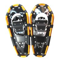 "Snowshoes Backpacking Trail Lightweight Aluminum 7075 Alloy 13 Point Crampons 21"" Inch Gold"