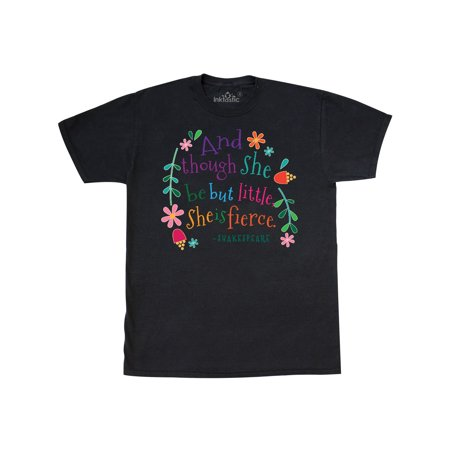 She Is Fierce Funny Shakespeare Quote Gift T Shirt