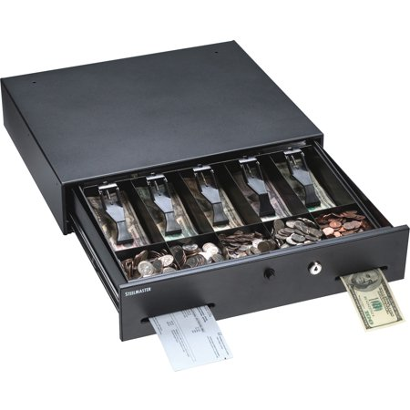MMF, MMF225106001, Touch-button Cash Drawer, Gray ()