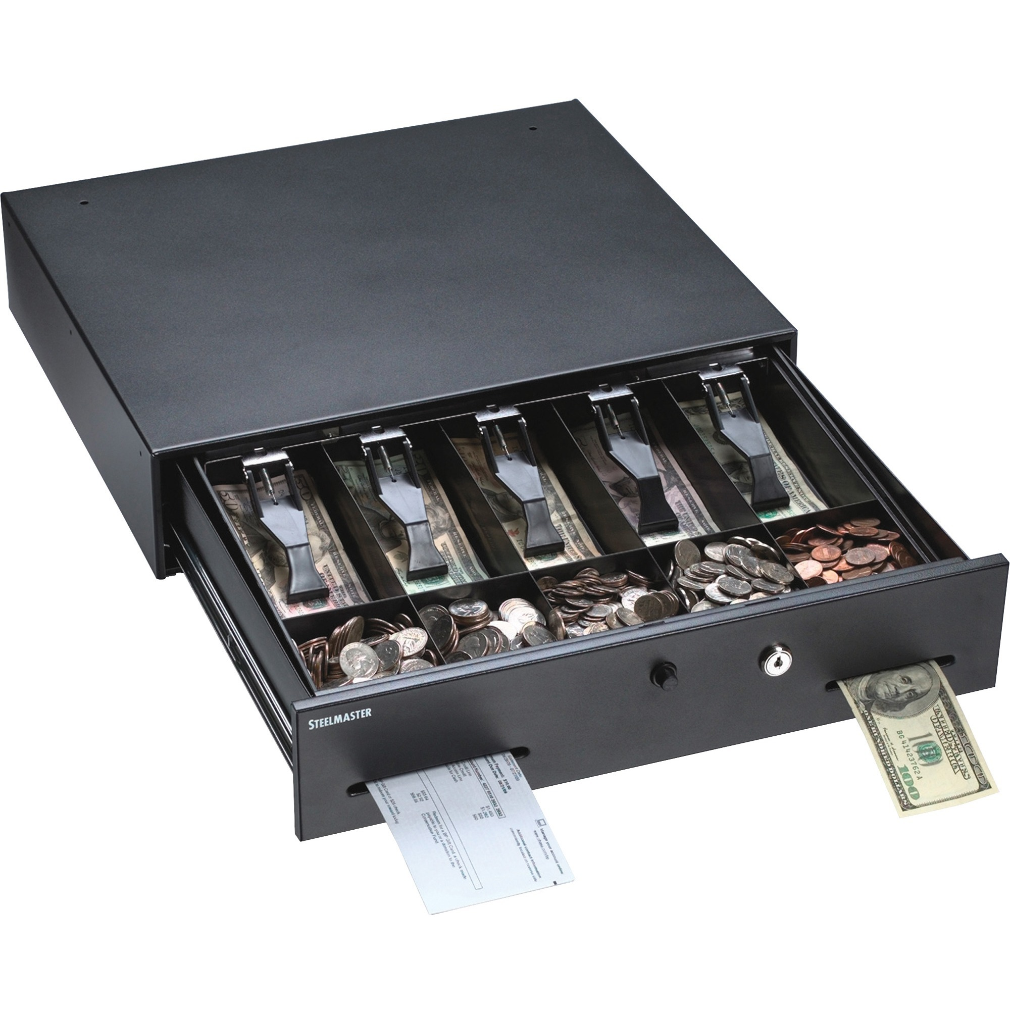 MMF, MMF225106001, Touch-button Cash Drawer, Gray