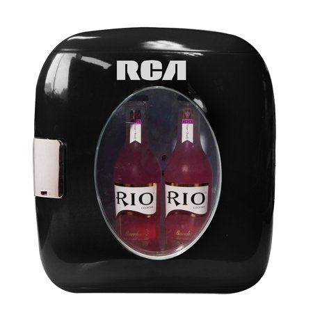 RCA Portable Retro 12-Can Mini Fridge RMIS462,