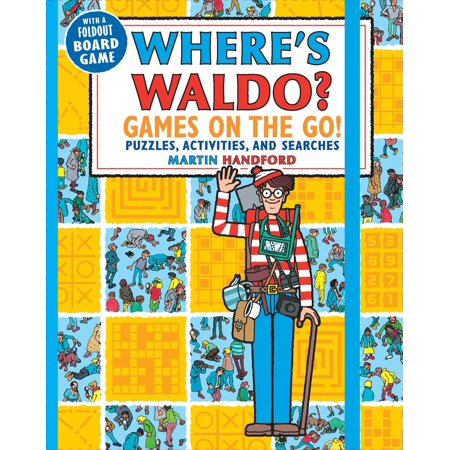Where's Waldo? Games on the Go! : Puzzles, Activities, and - Me On The Map Activities