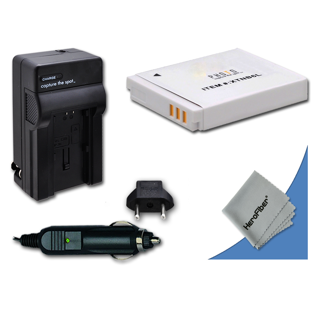 MAIN CAR Charger Kit for CANON NB-6LH 6LH NB6L NB6LH