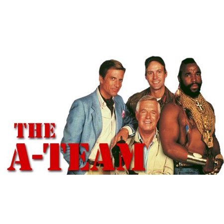 The A-team a Team 80's Tv Series Mr T Birthday Edible Image Photo 1/4 Quarter Sheet Cake Topper Personalized Custom Customized Birthday (80's Themed Birthday Party)