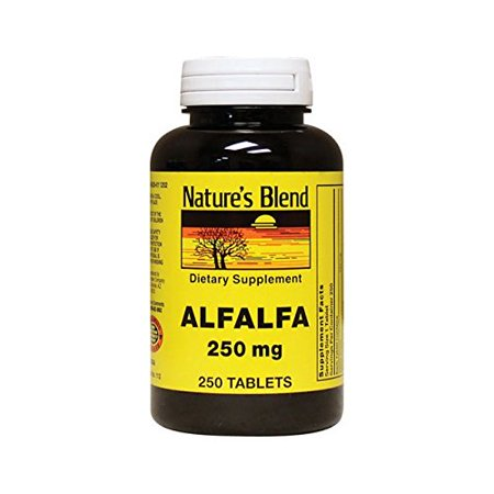 Nature's Blend Alfalfa 250 mg 250 Tabs