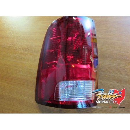 - 2009-2015 Dodge Ram 1500 2500 Rear Driver Side Tail Light and Assembly MOPAR OEM