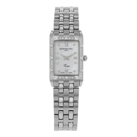 Raymond Weil Tango 5971-STS-00995 Stainless Steel & Diamonds Quartz Ladies Watch (Display Model)