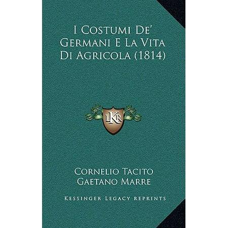 I Costumi de' Germani E La Vita Di Agricola (1814)](Tutorial Costumi Di Halloween)
