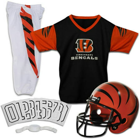 70c4b1be Franklin Sports NFL Cincinnati Bengals Youth Licensed Deluxe Uniform Set,  Small