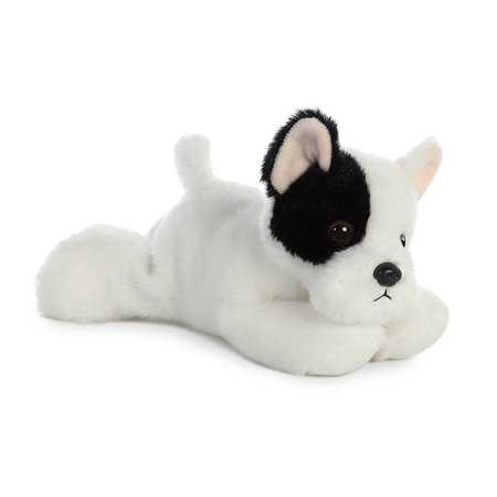 French Bulldog Mini Flopsie 8 Inch - Stuffed Animal by Aurora Plush (31745) - Stuffed Bulldog