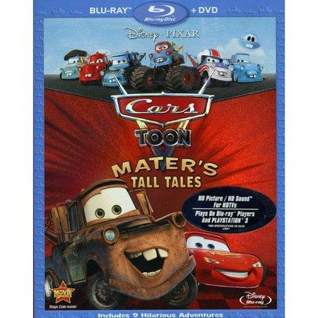 Cars Toon  Maters Tall Tales  Blu Ray   Dvd   Widescreen