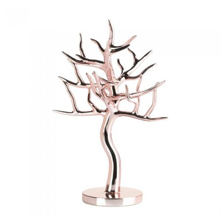 Accent Plus Jewelry Holder Tree Earring Stand Display Paris Rose Gold Sold By Case Pack Of 4
