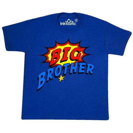 Inktastic Big Brother Superhero Youth T Shirt Super Hero Tee Kids Children Child