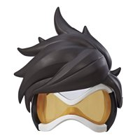 Overwatch Tracer Roleplay Mask with Removable Hair Accessory