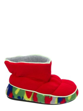37c4d147dc1c5 Product Image DF by Dearfoams Boys  Quilted Fleece Bootie with Glow Slippers