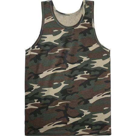 - Mens Tank Top Sleeveless Active Gym Workout Shirt