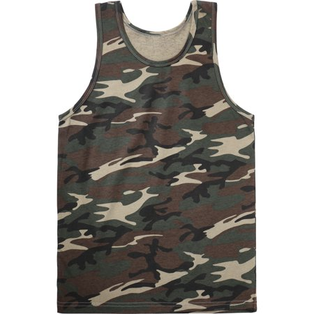 Mens Tank Top Sleeveless Active Gym Workout Shirt