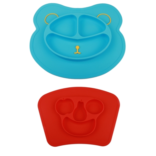 Baby Mat 1 - 1 Blue 1 Red 2 pack