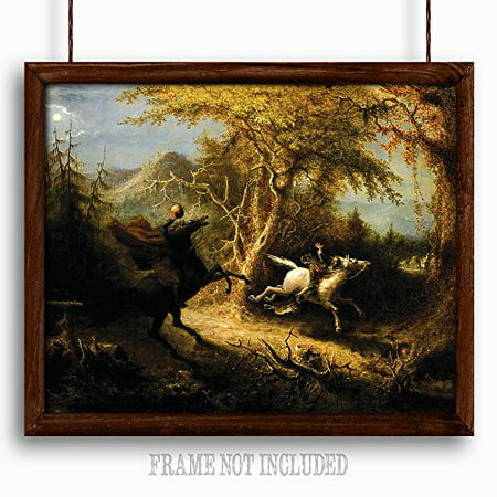 Lone Star Art Headless Horseman - 16x20 Unframed Wall Poster - Great Halloween Decor](Halloween Art Printables)