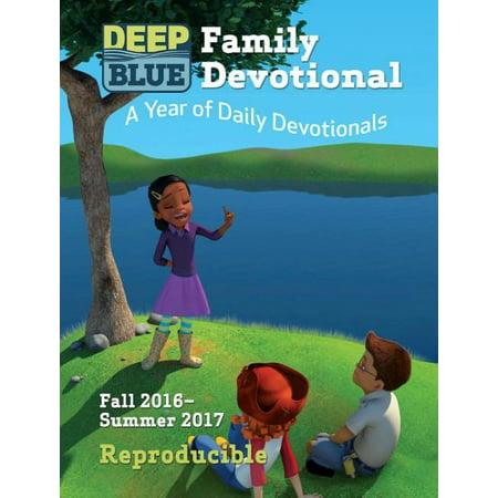Image of Deep Blue Family Devotional