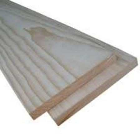 Brd Common 1In 6In 4Ft Pine AMERICAN WOOD MOULDING Dimensional Lumber - S4s Dimensional Lumber