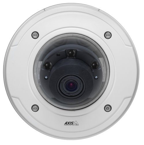 Axis Communications 0473-001 1 MP Outdoor Day and Night IP Dome Camera with 12mm Lens