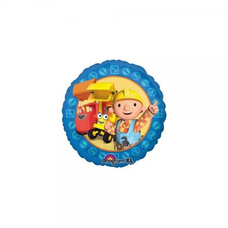 Anagram 18 Inch Bob The Builder Character Round Foil Balloon