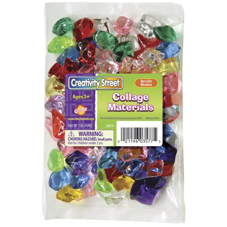 Chenille Kraft Assorted Shape Acrylic Stones, 1