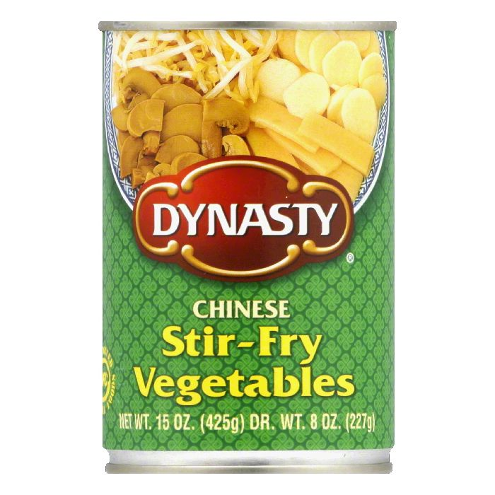 Dynasty Stir Fry Vegetables, 15 OZ (Pack of 6) by