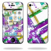 Mightyskins Apple iPhone 4 or iPhone 4S AT&T or Verizon 16GB 32GB Cell Phone wrap sticker skins Modern Plaid
