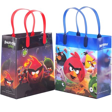 Angry Birds 12 Reusable Party Favors Medium Goodie Gift Bags 8