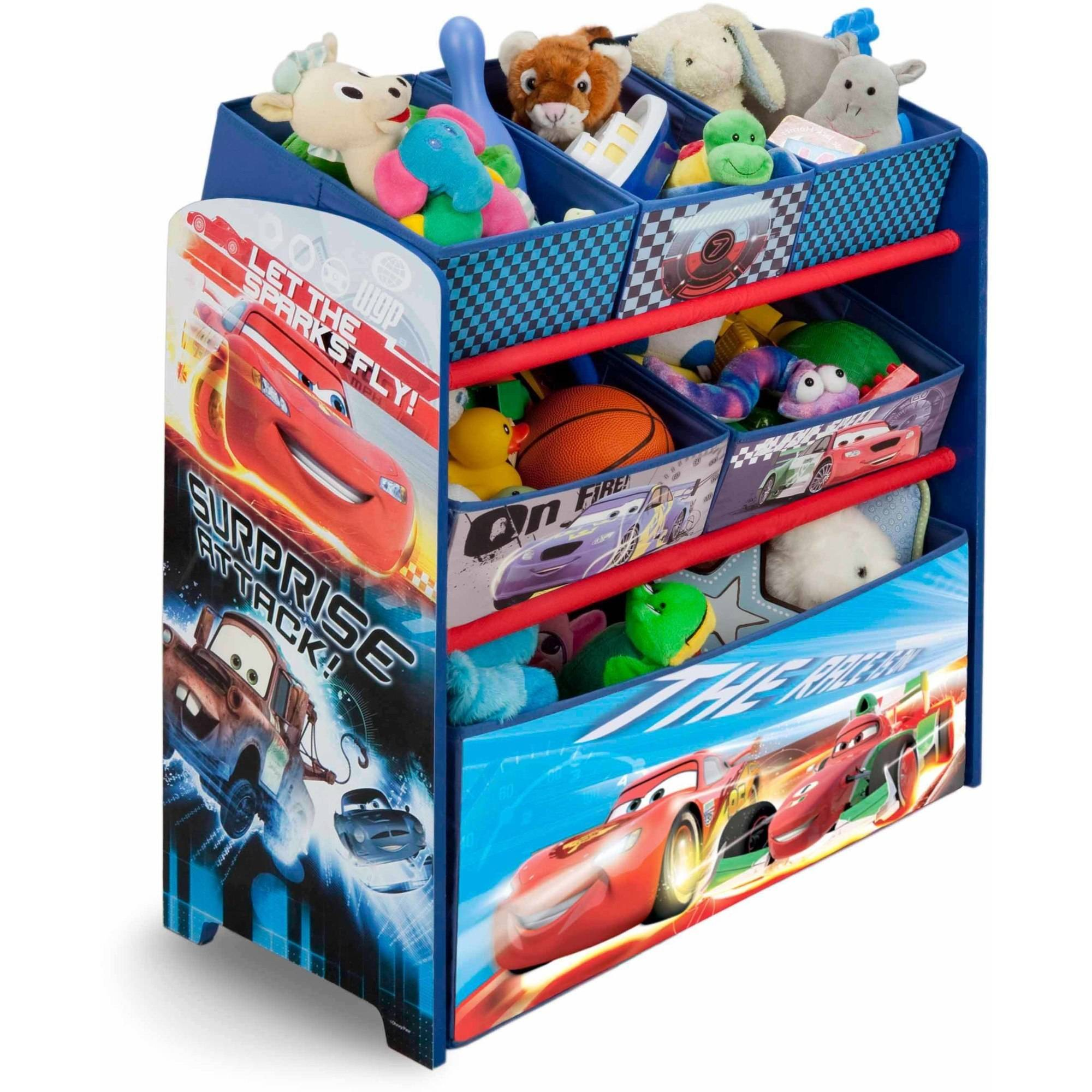 Disney Cars Room-in-a-Box with Bonus Chair - Walmart.com
