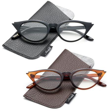 Designer Inspired Stylish Cateye Reading Glasses Cat Eye Vintage Reading Glasses for Women (Eye Glass Designers)