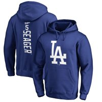 Corey Seager Los Angeles Dodgers Fanatics Branded Backer Pullover Hoodie - Royal