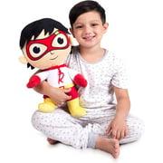 Franco Kids Bedding Super Soft Plush Cuddle Pillow Buddy, One Size, Ryan's World Red Titan