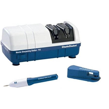 Chefs Choice Edgecraft Diamond Hone - Chef's Choice M710 White and Blue Diamond Hone Marine Sharpening Station