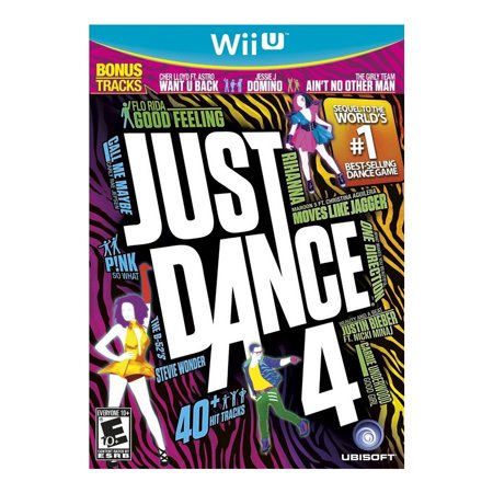Just Dance 4 (Nintendo Wii U)- XSDP -18720 - Make your mark on the dance party, even if you're not on the dance floor, in this Wii U edition of Just Dance 4! The exclusive five-player Puppet Mast for $<!---->