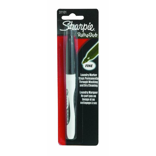 Sharpie Rub-A-Dub Laundry Marker SAN31101PP