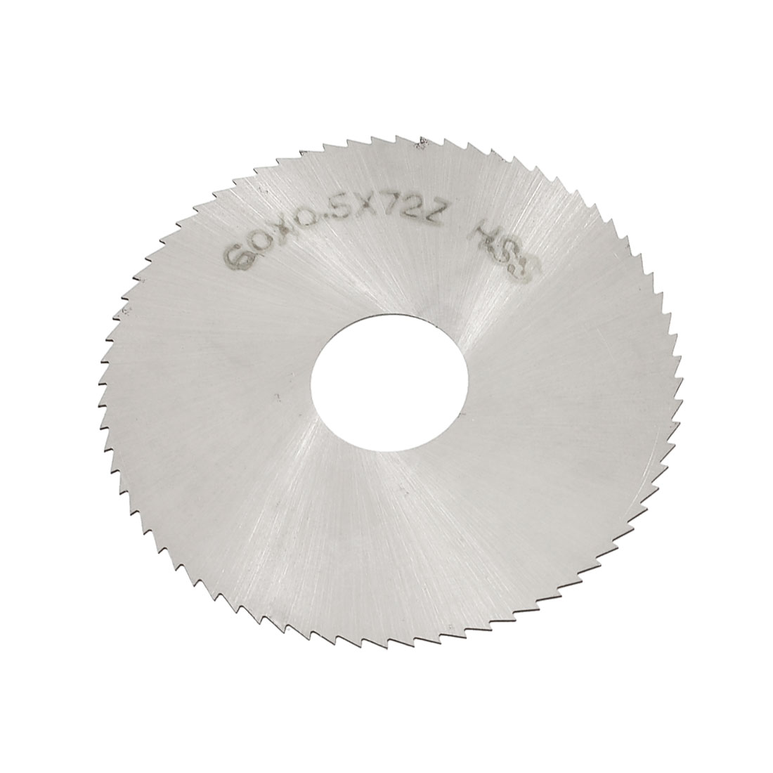 60 mm OD 0.5 mm d'épaisseur 72t HSS circulaire Lame de scie à fendre - image 1 de 1