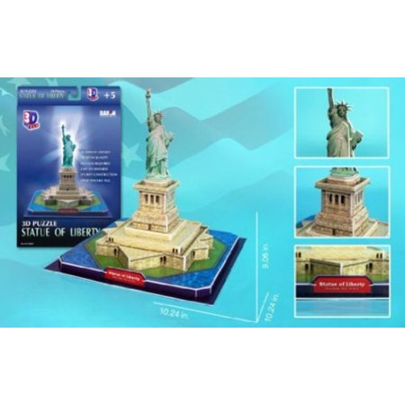 Daron Statue of Liberty 3D Puzzle, 39-Piece