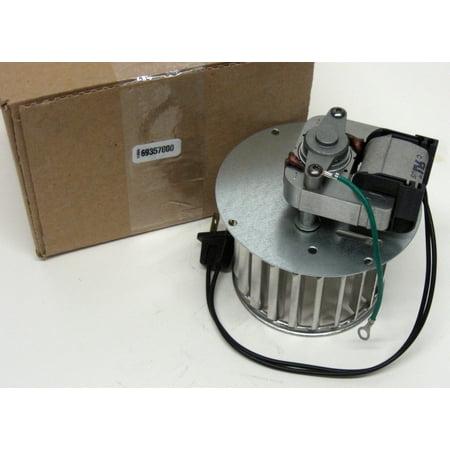 69357000 Broan Nutone Bathroom Exhaust Blower Motor Vent Fan Wheel for 9605 C-57768 ()